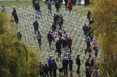 Field of Remembrance in Timaru
