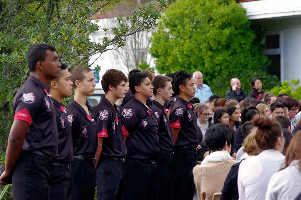 Glenfield College cadets