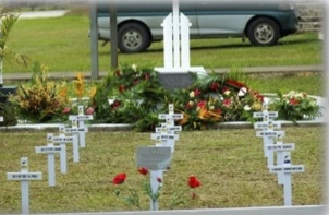 Niue Island Field of Remembrance
