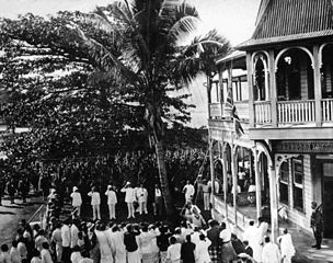 Photo of Occupation of German-Samoa 1914